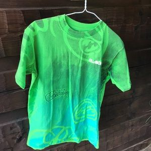 Green billabong t-shirt